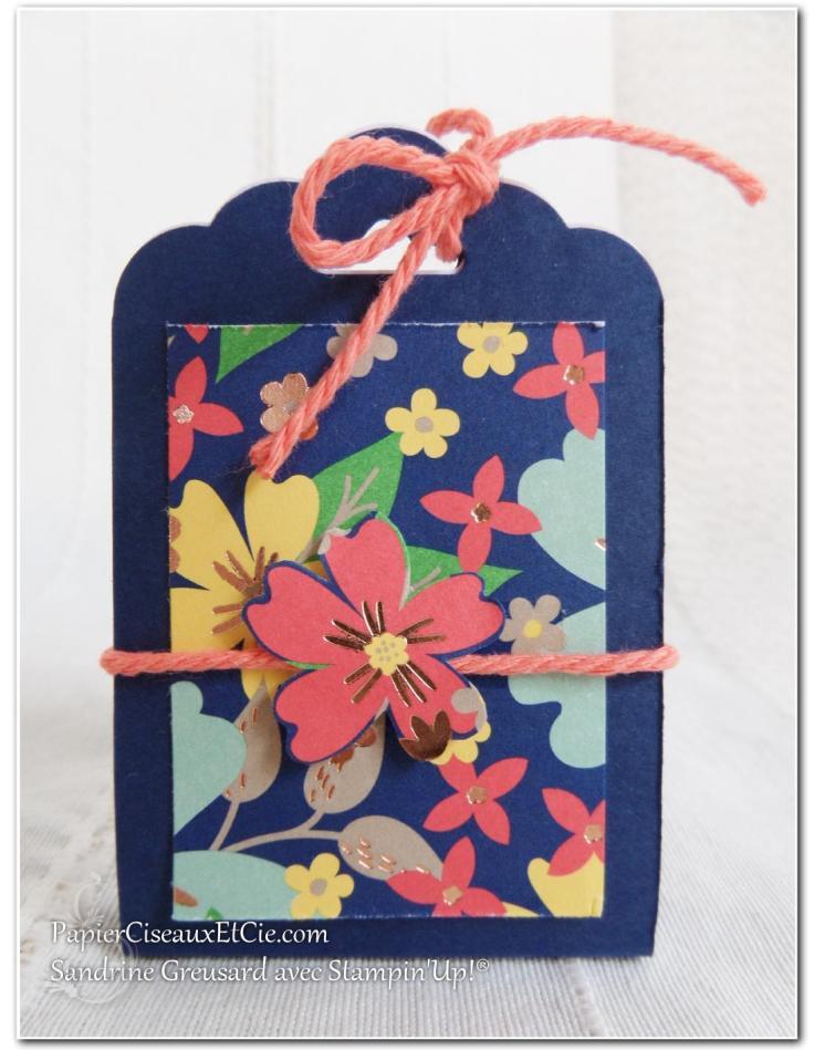 1 Pochette cadeau boucle d'oreille papierciseauxetcie.com