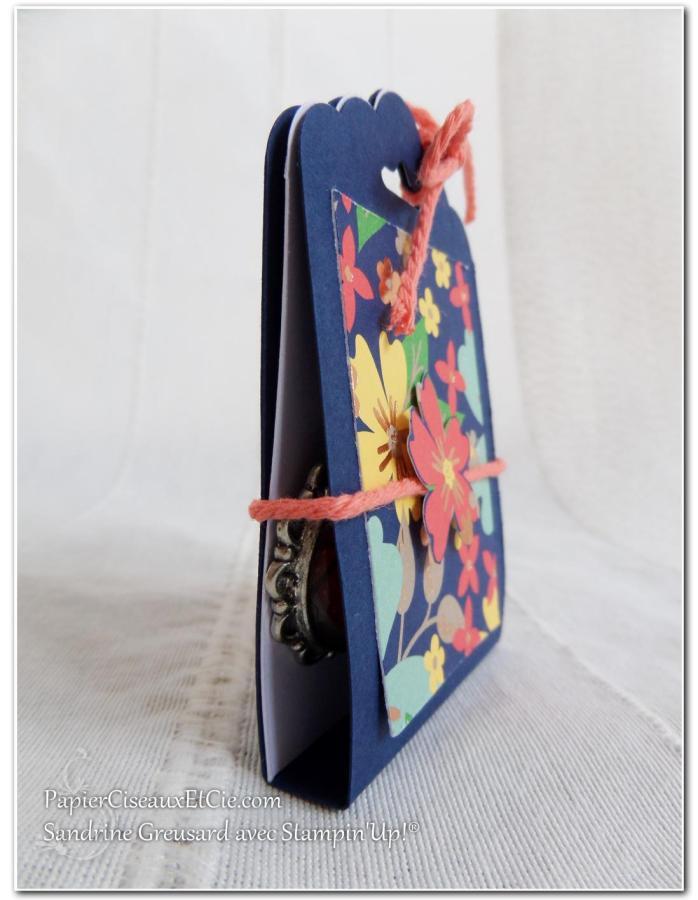 1 Pochette cadeau boucle d'oreilles détail papierciseauxetcie.com