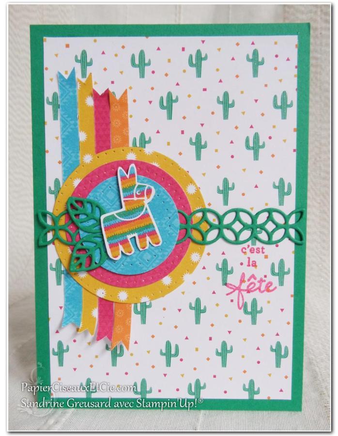 Anniversaire festif stampin up 1 2 3 scrappez papierciseauxetcie.com