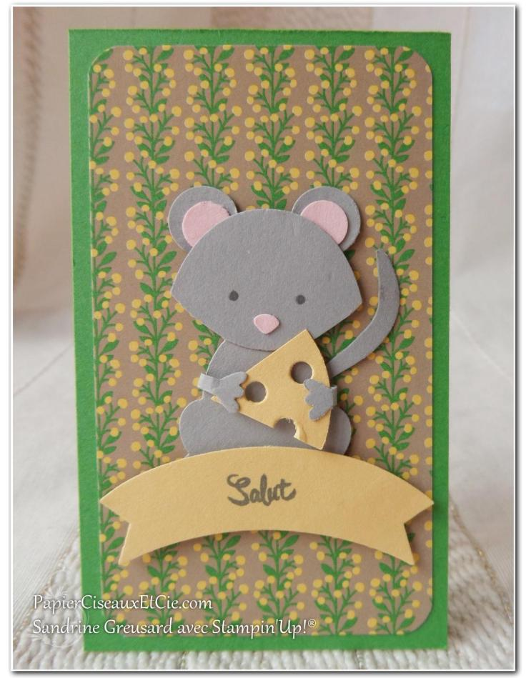 1 Foxy friends Mouse Souris Swap swappons swappez papierciseauxetcie stampin up sandrine greusard