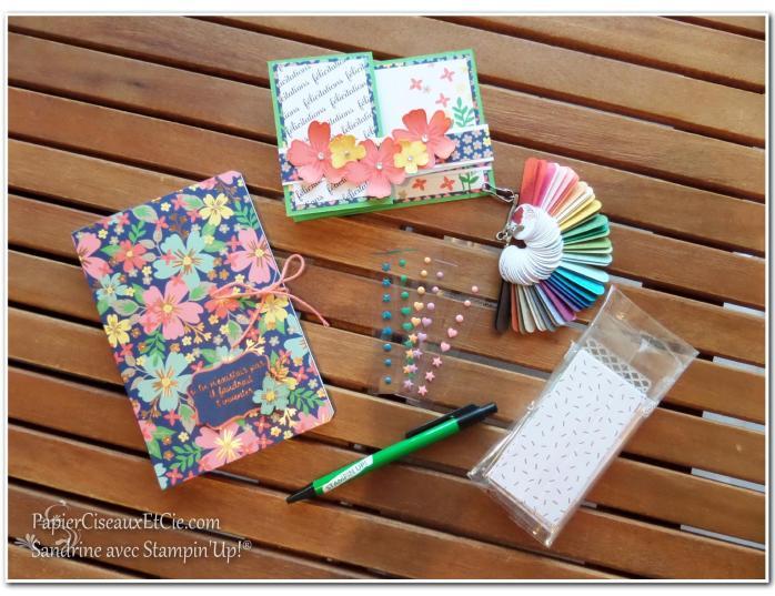 Cadeaux filleule Stampin Up Sandrine Greusard PapierCiseauxEtCie.com