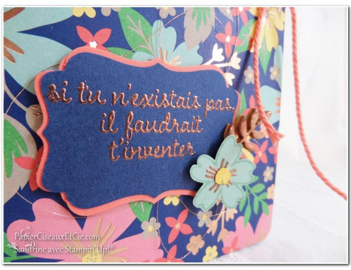 Carnet détail 3 Stampin up Sandrine Greusard Papierciseauxetcie