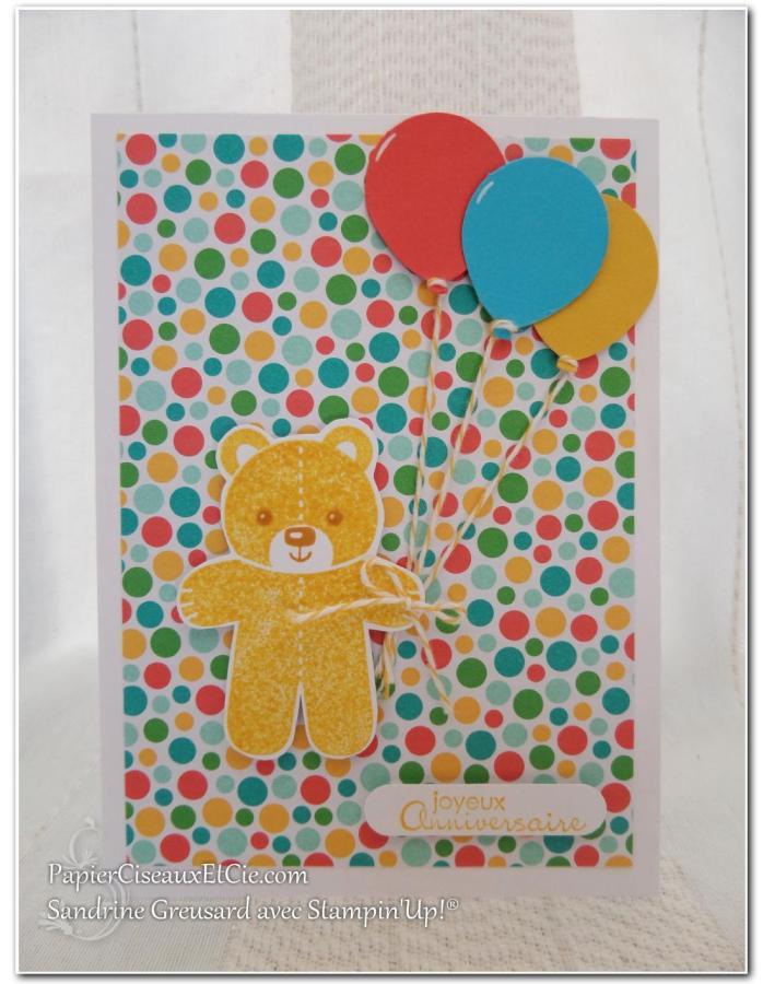 une carte d anniversaire pour enfant toute en couleurs papier ciseaux et cie com. Black Bedroom Furniture Sets. Home Design Ideas