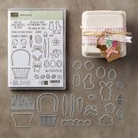 Blog Hop Autour d'un set de tampons: Panier de Pâques!