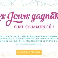 Youhou!! Nouvelle promo extra: gagner des coupons cadeaux dès 60€!!!