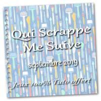 """""""Qui scrappe me suive""""... Septembre 2019: Tuto de la Carte à clapet"""