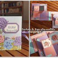 Scrap En Kit : Mini album en duo d'escargots (février 2021)