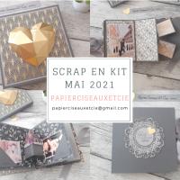 Scrap En Kit de Mai: Volumes et Pop-Up!