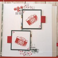 Scrap En Kit de septembre 2021: Mini-Album fenêtre